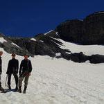 Bronzette sur le Glacier du Ruan