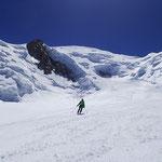 Sous le Mont-Blanc, ski grandiose au Grand Plateau