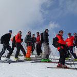 L'équipe au sommet de Chalune