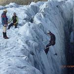 Ecole de glace et visite de crevasse...
