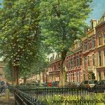 Surinamestraat Den Haag. Olieverf op doek. 50 x 60 cm