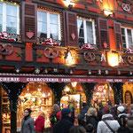 Marché de Noel à Ribeauvillé, pas loin de mon appartement de vacances, Ferienwohnung Ruppenthal.