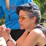 Barbara betet ,damit die Portionen auch reichen