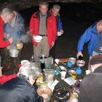 Essen und Trinken im Diebskeller am Quirl