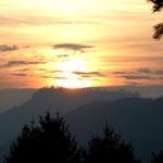 Sonnenuntergang über´m Königstein