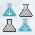 BRANDING DESIGN: Science & Wonder, Lacey, WA Icon Designs
