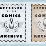 LOGO DESIGN: The Comics Archive podcast