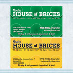 BUSINESS CARD: Noel's House of Bricks, Lacey WA