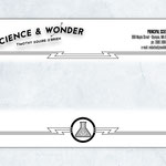 BRANDING DESIGN: Science & Wonder, Lacey, WA Letterhead