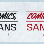 LOGO DESIGN: Comic Sans podcast and blog