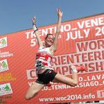 Erster Weltmeisterschaftstitel Sprint 2014