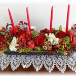 thanks クリスマスのお花
