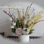 thanksおひなさまの花