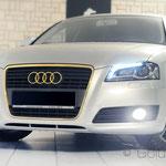 24 Karat vergoldeter Audi