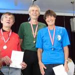 Ilse Haider (SK Vöest) gewinnt überlegen ihre Altersklasse