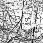 Die chemische Fabrik E. Merck im Norden der Gemarkung Darmstadt (Plan aus den dreißiger Jahren)