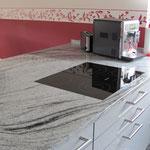 Granitarbeitsplatte, edel und modern