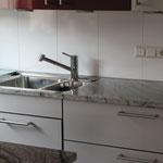 Granit-Arbeitsplatte, hygienisch und robust