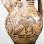 ORVIETO: maiolica tardo-medievale verde e bruna (arcaica), sec.XIII-XV