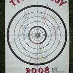 Carte Tir du Roy 2008