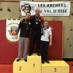 Championnat départemental Salle de Sannois les 31 Janvier et 1er Février 2015