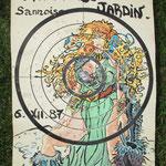 Carte Partie de Jardin 1987