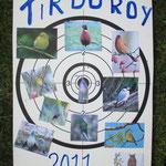 Carte Tir du Roy 2011