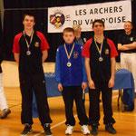 Championnat départemental Salle de Pontoise les 1er et 2 Février 2014