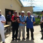 Championnat départemental Fita de Viarmes les 15 et 16 Juin 2013