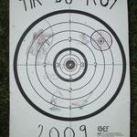 Carte Tir du Roy 2009
