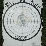 Carte Tir du Roy 2005