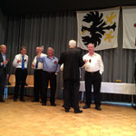 Karl Strübin, 48 Sängerjahre (blaues Hemd)