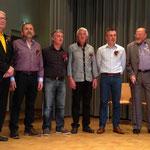 Bruno Trummer, 26 Sängerjahre (2. von links)