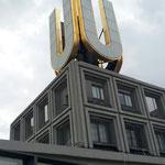 """Das goldene """"U"""" - ein Wahrzeichen der Stadt"""