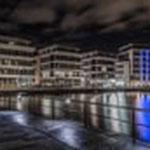 Architektur am Phoenixsee im besonderen Licht