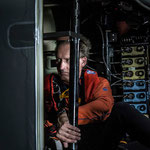 Andre Borschberg doing spinal twist @Solar Impulse | Anna Pizzolante | Rezo.ch