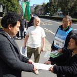 2012.3.12厚労省へ抗議と要求書提出