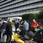 2012.3.12内閣府中央合同庁舎第4号館前での抗議行動