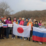Photo Provider:Ms.E ・Place:Vladivostok and Moscow, Russia・comment:We would like to share you with some pictures from our Vladivostok and Moscow walking according to Japan March!