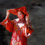 169 - Su Liu - Chinese Red - oil on linen - 120x100