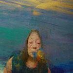 Felipe Alonso - La expiración de Cloris - Óleo sobre lienzo - 60x73