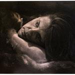 307 - Beatriz Blanco Lago - Desvelo -Grafito sobre papel - 65x80