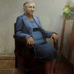 239 - Jose Luis Paredes Orue - Hilda - Oleo sobre tabla - 117 x 84