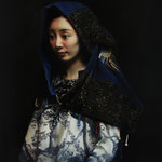 312 - Kexin Di - The Blue - Oil - 100x80