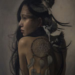 6 - Hari Lualhati - The Dreamcatcher - Oil on Canvas - 60,9x76,2