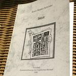 Karin Mettke-Schröder/Inhalt/Zusammenfassung des Gigabuches Michael/Druckheft von 2002/Einband
