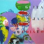 guitar jack mediator-75x105 - Acrylique sur Toile
