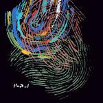 EMPREINTE colorée - 110X110