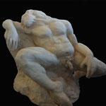 L'endormi - Terre Cuite - 50/40/35