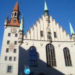 Altes Rathaus - Ostansicht